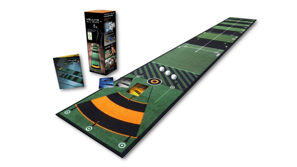 Wellputt golf tapis de putting 4m