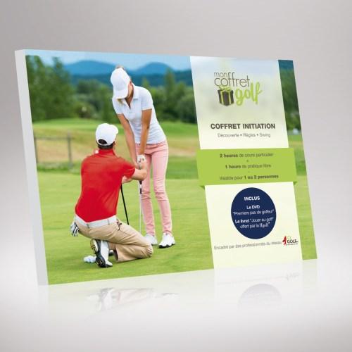 Cadeau cours de golf 2 heures