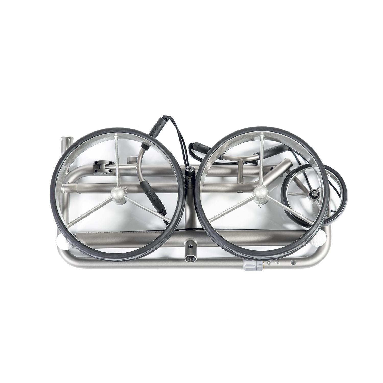 pliage chariots électriques JuCad Drive SL Titan Travel eX 2.0