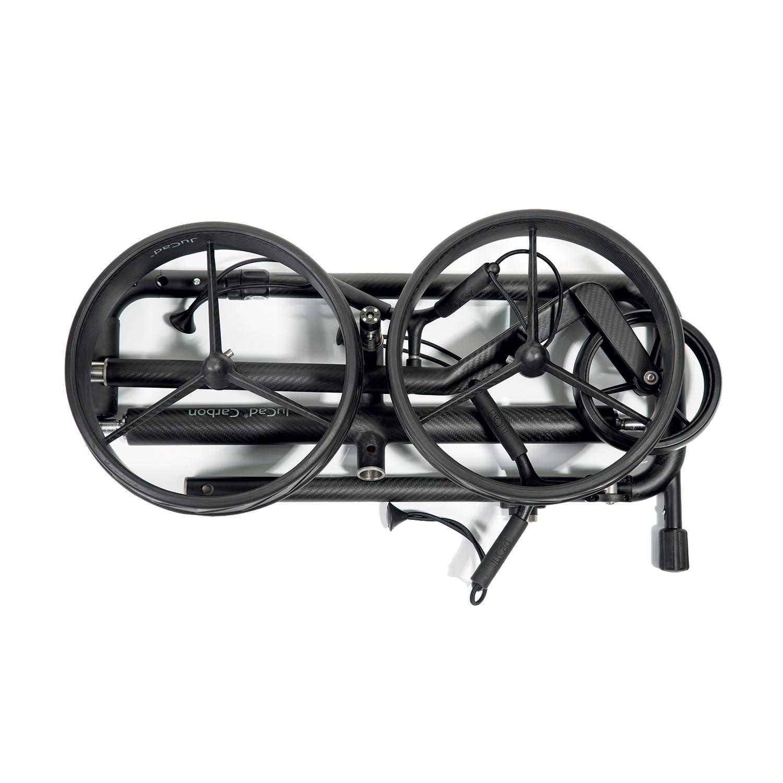 pliage chariots électriques Jucad Phantom Titan eX 2.0