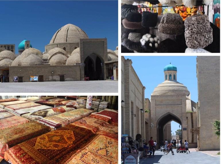Buchara markten Oezbekistan zijderoute