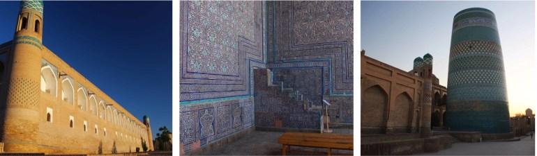 Khiva oezbekistan route