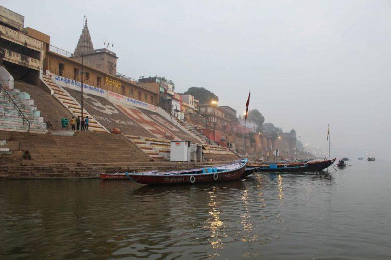 Ghat India Varanasi