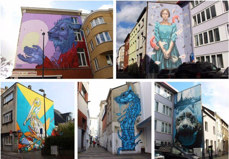 Street art Mechelen Muurt