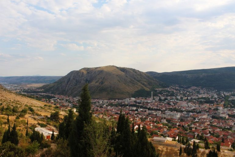 View from Hum Mostar