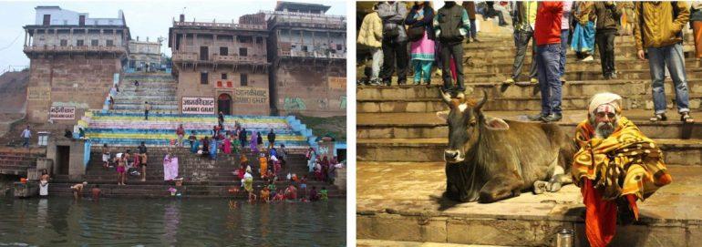 Varanasi India Azie