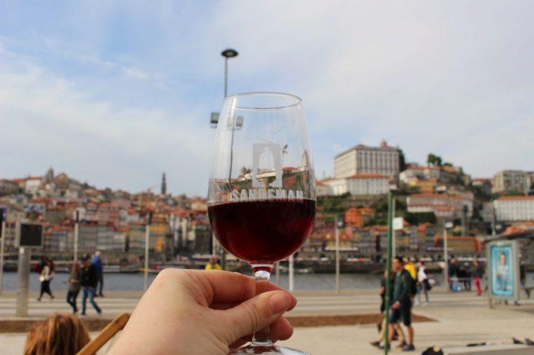 Portwijn in Porto Vila Nova de Gaia