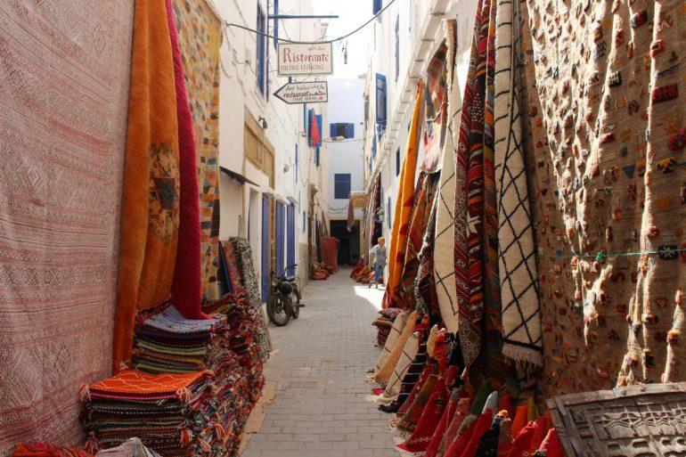 Essaouira tapijten Marokko
