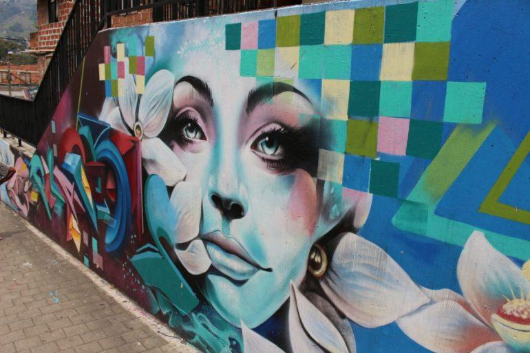 Street art Medellin Comuna 13