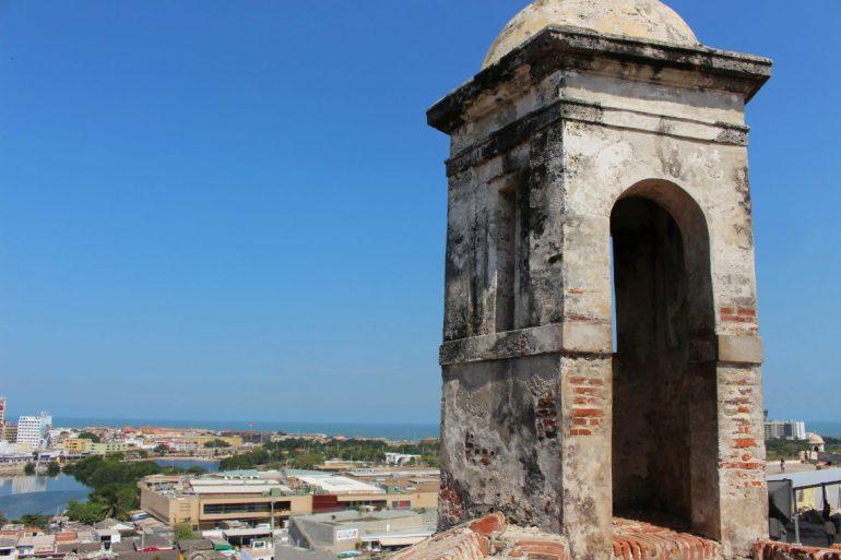 Castillo de San Felipe Cartagena tower things to do
