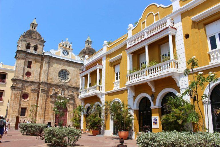 El Centro Square Cartagena things to do