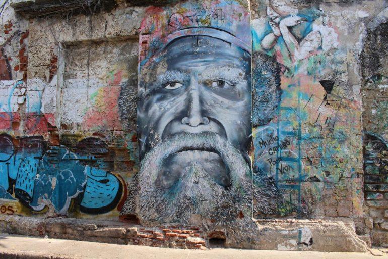 Street art straten Getsemani