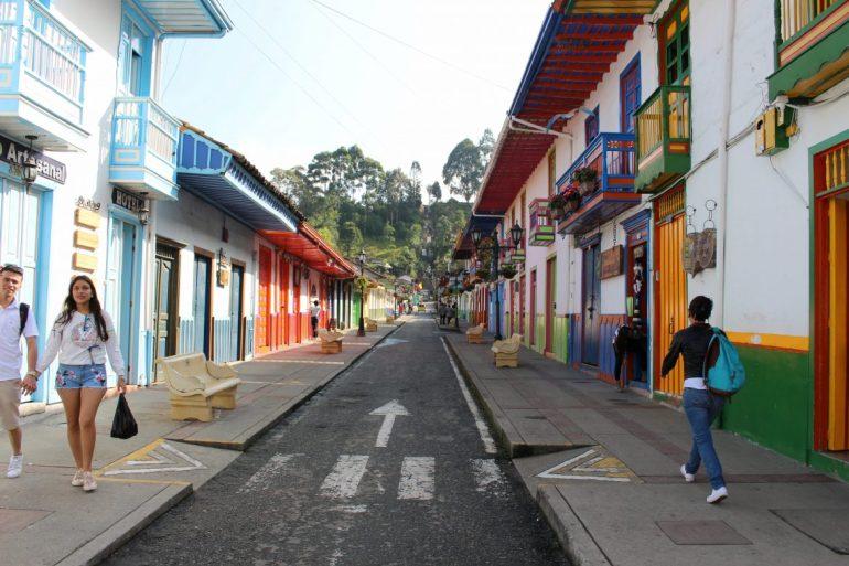 Salento Colombia koffiestadje