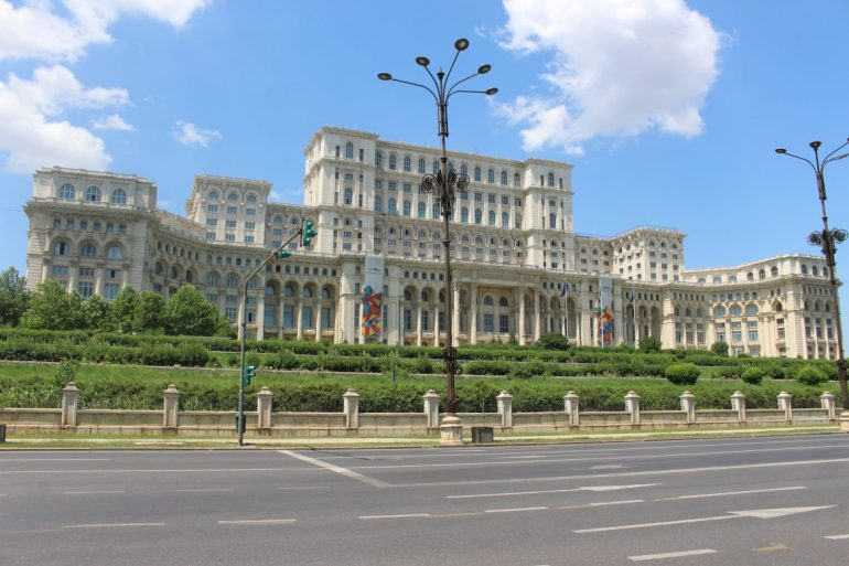 Bucharest Parliament wereldreis