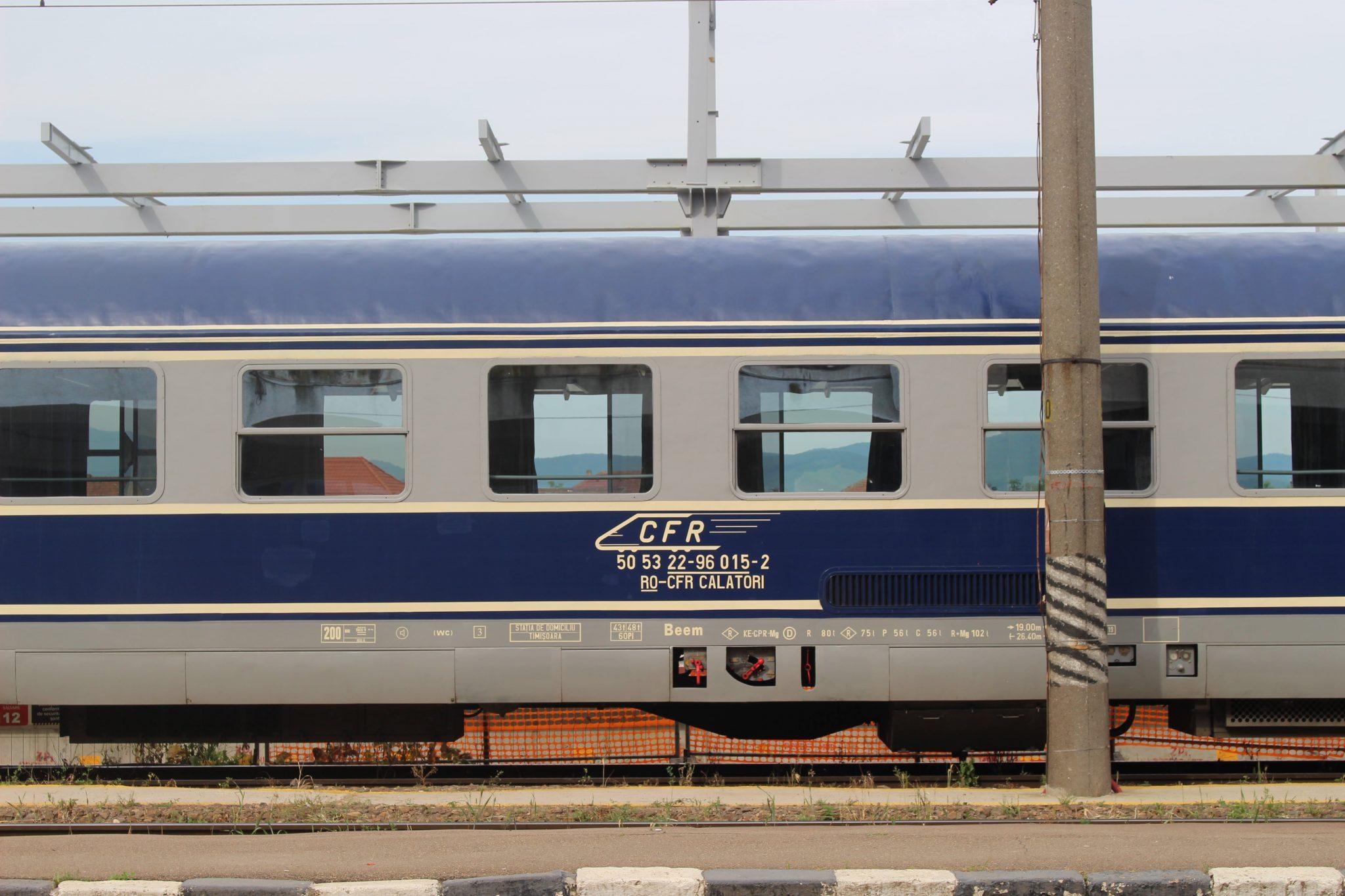 Trein Roemenie