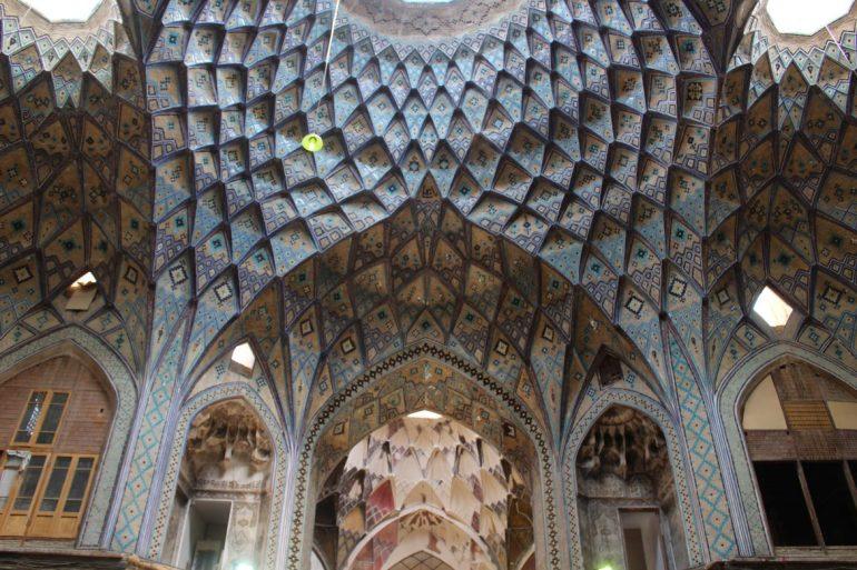 Kashan Bazaar Iran wereldreis