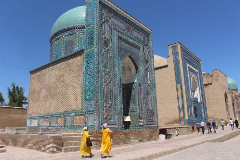 Samarkand Uzbekistan necropolis