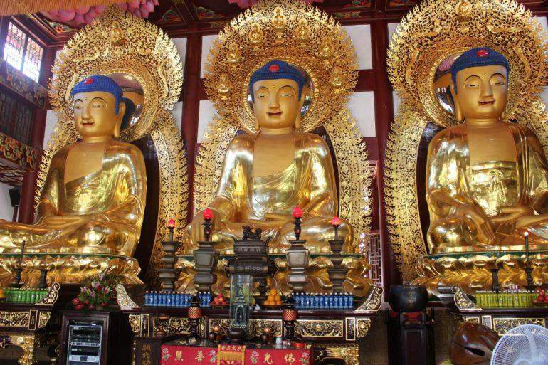 Guangzhou tempel buddha