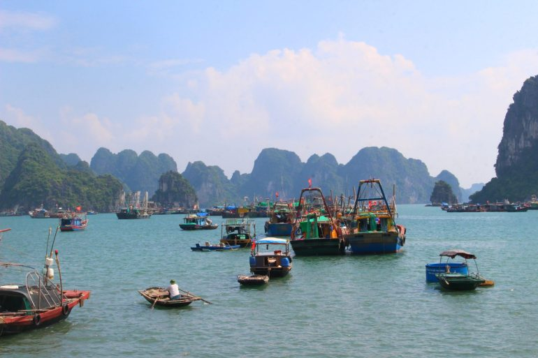 Halong Bay Vietnam view