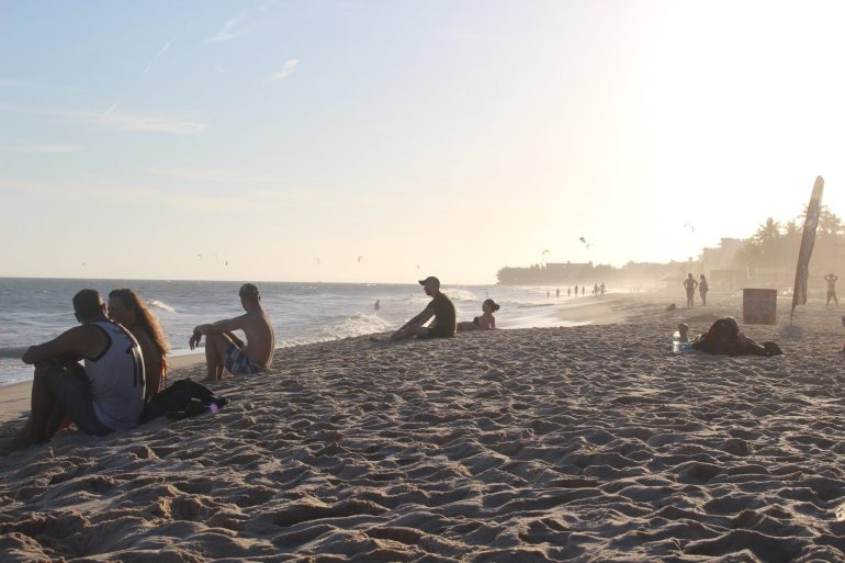 Mui Ne Vietnam strand wereldreis