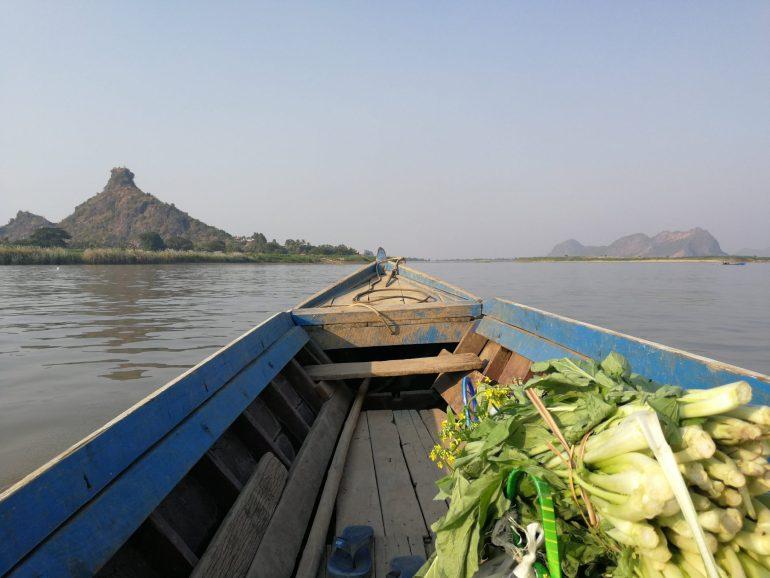 Hpa An boat wereldreis
