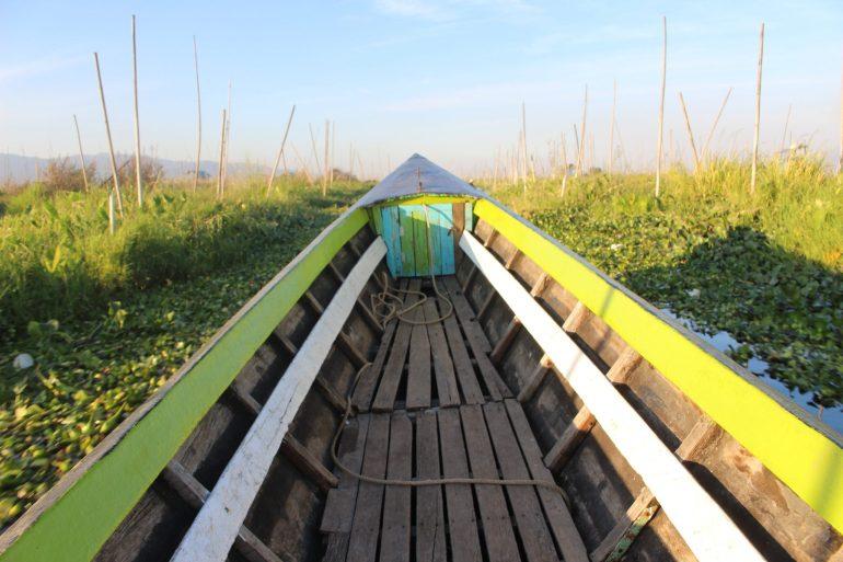 Inle Lake boat Myanmar