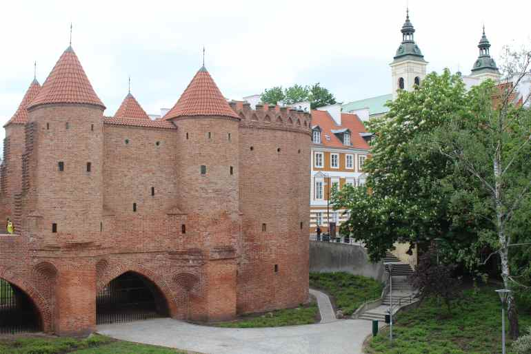Barican poort warsaw