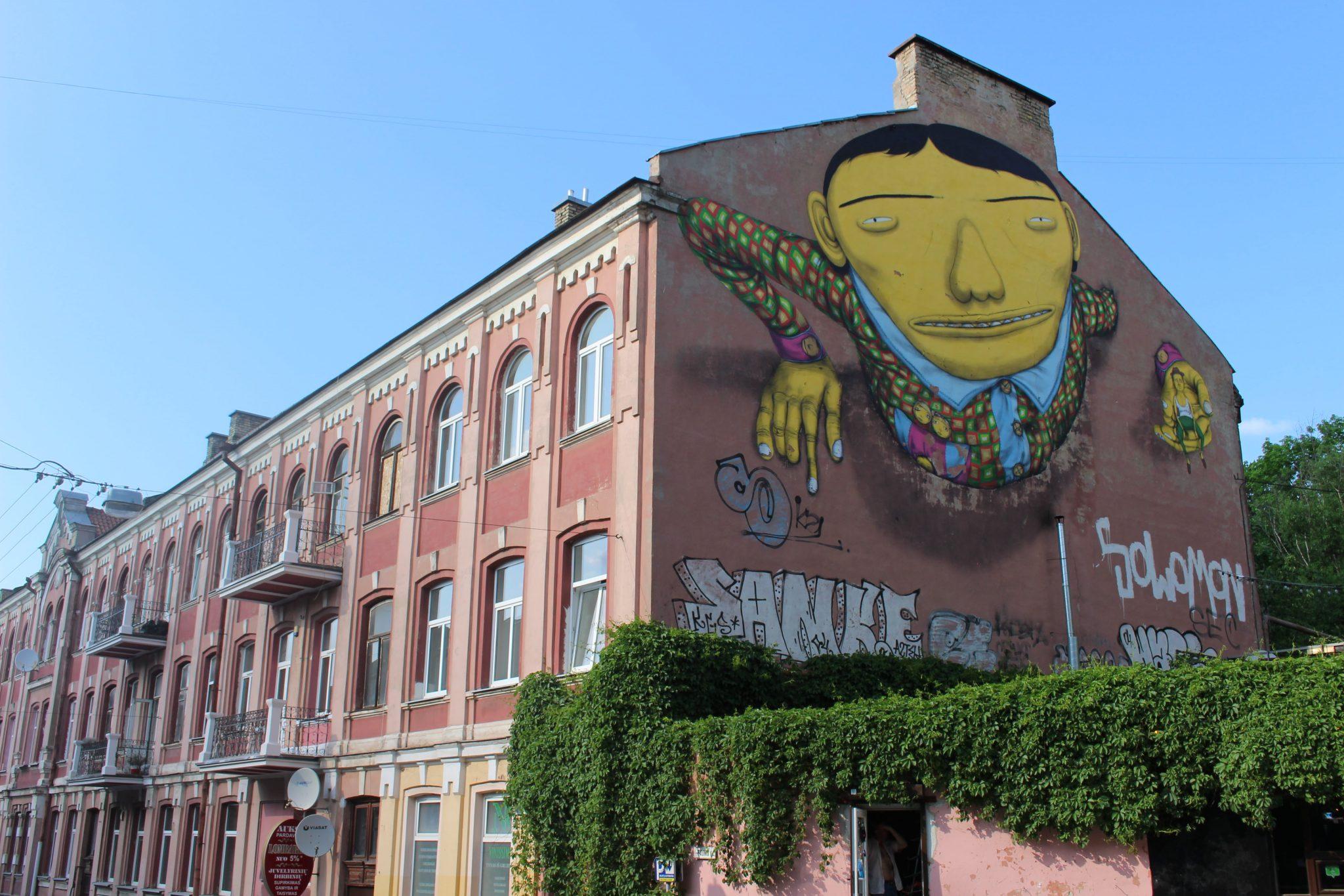 Os Gemeos Vilnnius street art