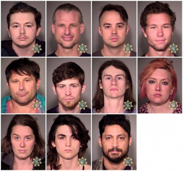 Portland Police Arrested 7 People During Sundays Protests
