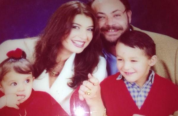 جولولي منال سلامة تحتفل بتخرج ابنها شاهد