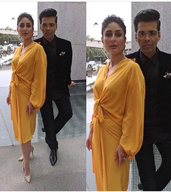 جولولي كارينا كابور خان أكثر إشراقا بفستان أصفر صور