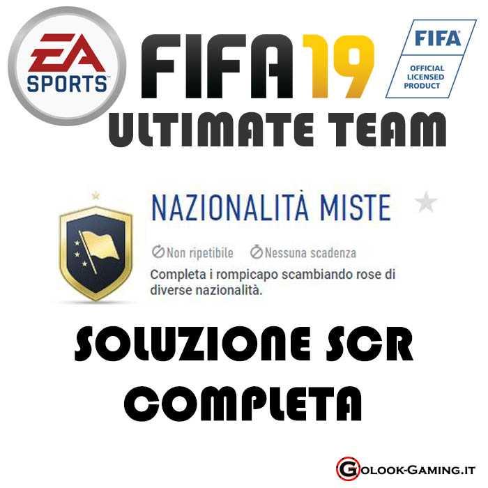 Fifa 19 Ultimate Team Soluzioni Sfide Creazione Rosa