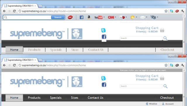 come eliminare toolbar da chrome