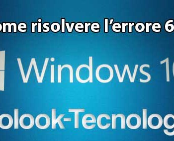 Windows 10 errore 651