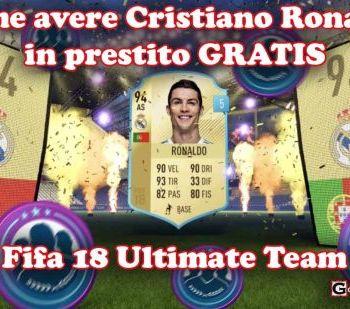 Cristian Ronaldo in prestito gratis fut 18