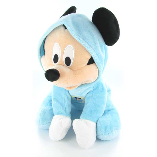 <FONT COLOR=#FF0000><b> - 2010: </b></font>PELUCHE BABY MICKEY 30 cms. SUPER SUAVE.