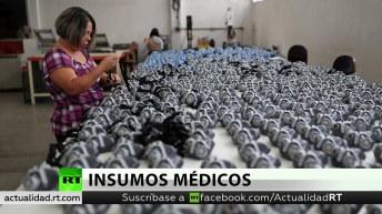 Brasil suma más de 2.300 fallecidos y México recibe ayuda médica de China
