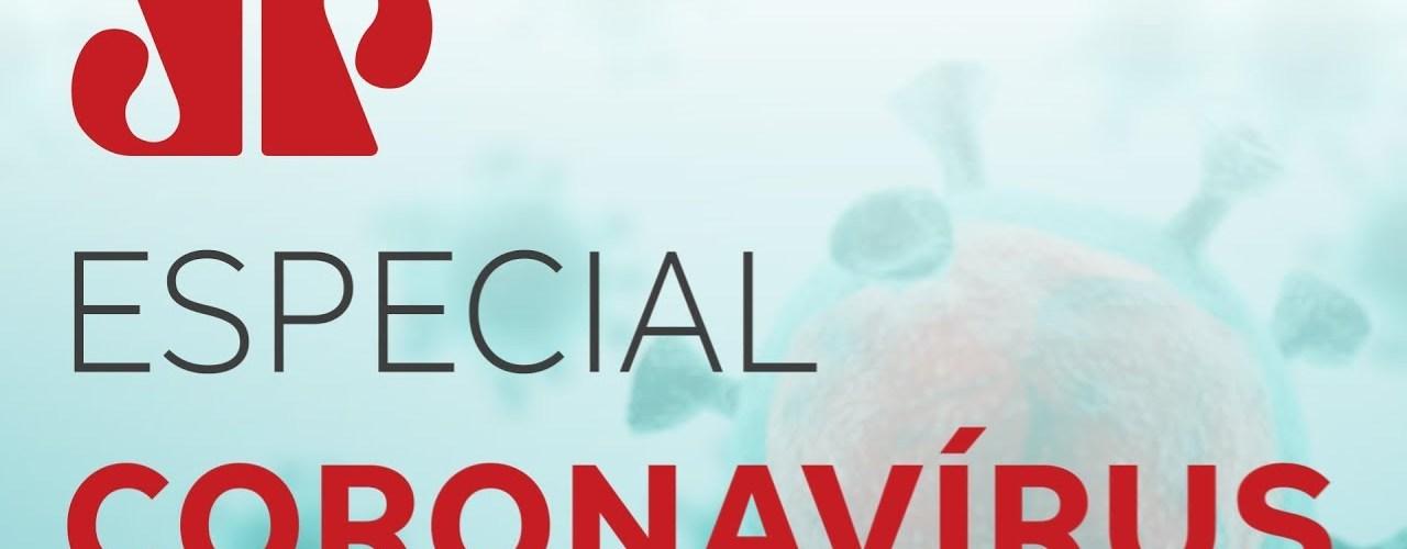 jovem pan especial coronavirus t