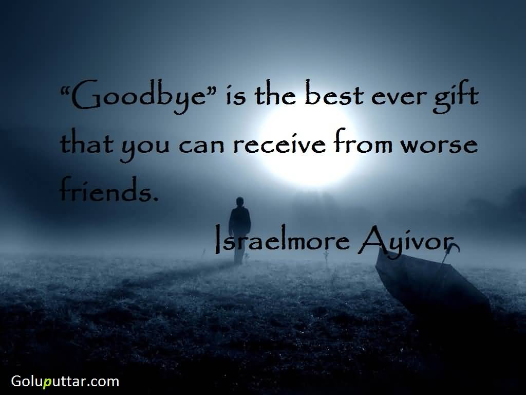 Goodbye Quotes Friends