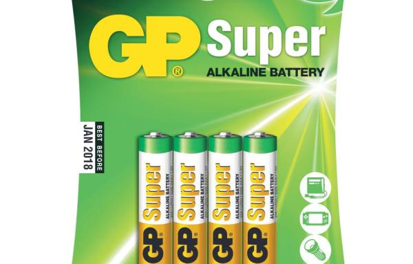 Batteri GP Super AAA