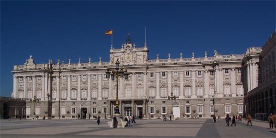 Madrid's top sight - the Royal Palace