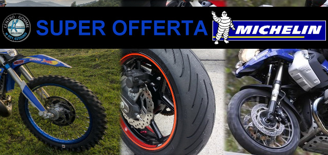 Super Offerta su MICHELIN Anakee 3, Power 3 ed Enduro Competition 3