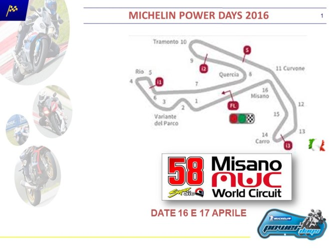 Michelin POWER DAYS 2016 - MISANO