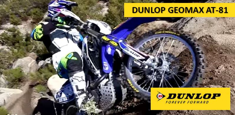Dunlop Geomax AT-81, il nuovo Pneumatico da Cross Country (X-C)
