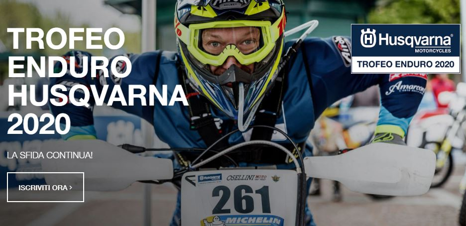 Trofeo Enduro Husqvarna 2020 – Video & Calendario Gare