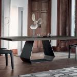 Bonaldo Amond Solid Wood Dining Table Bonaldo Tables At Go Modern