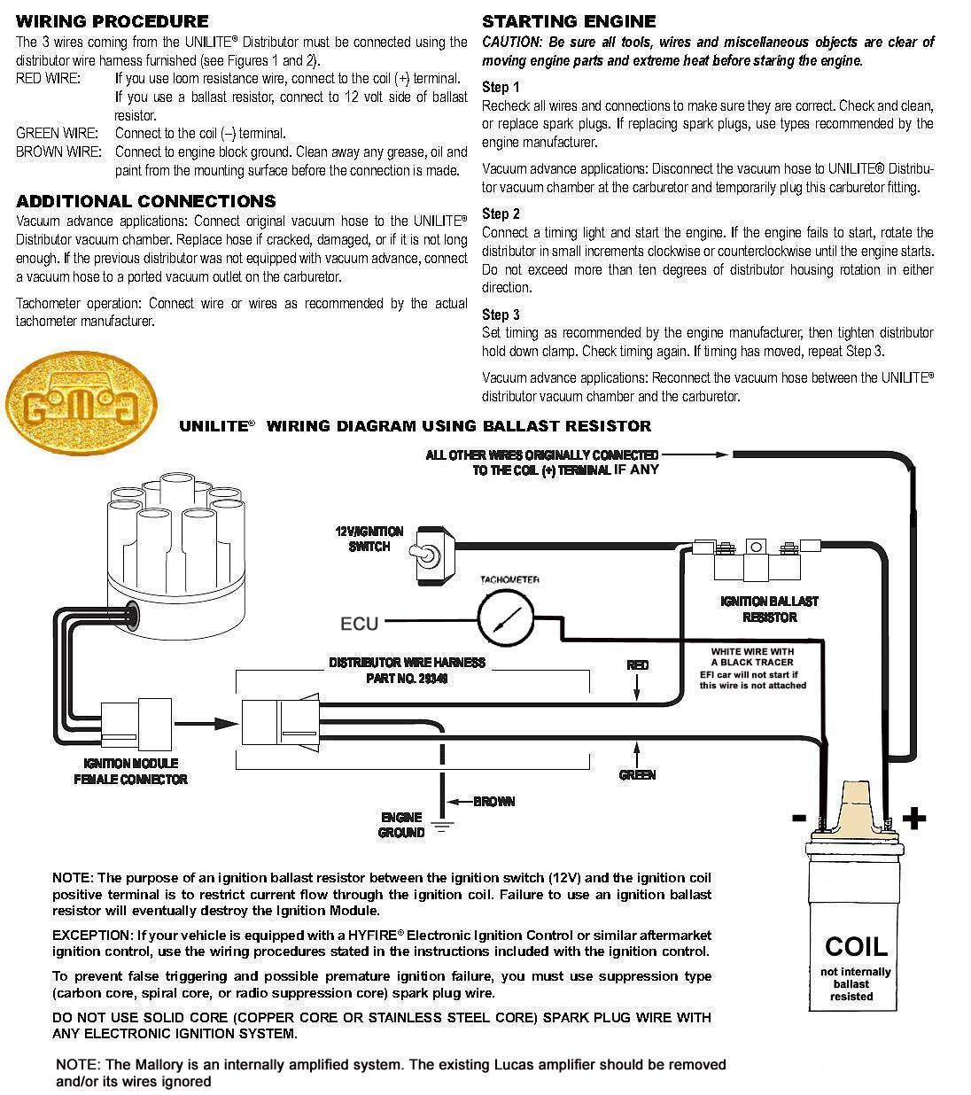 Ballast Resistor Wiring Diagram : Dodge ballast resistor wiring boat motor elsavadorla