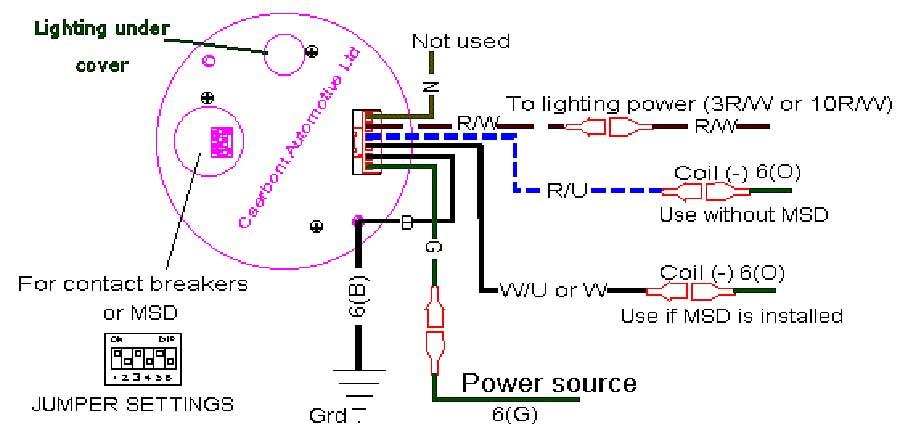 Sun Super Tach Ii Wiring Diagram Blonton: Super Pro Tach Wiring Diagram At Imakadima.org