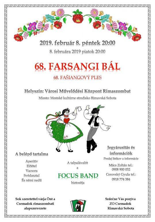 Csemadok Farsangi bál