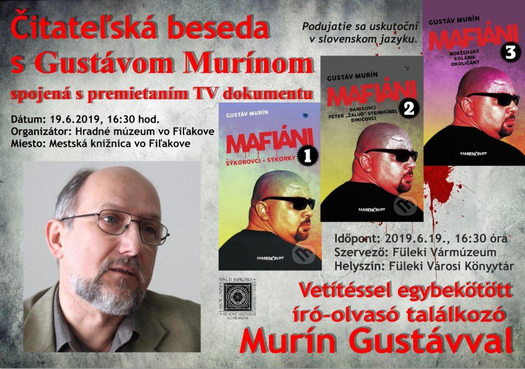 Író-olvasó találkozó Murín Gustávval Füleken